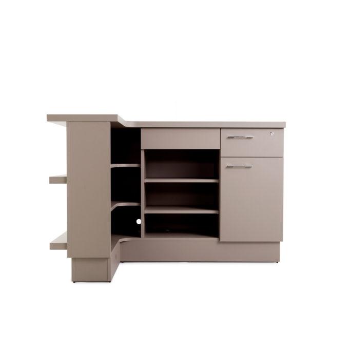 meuble caisse avec rangements et tiroir