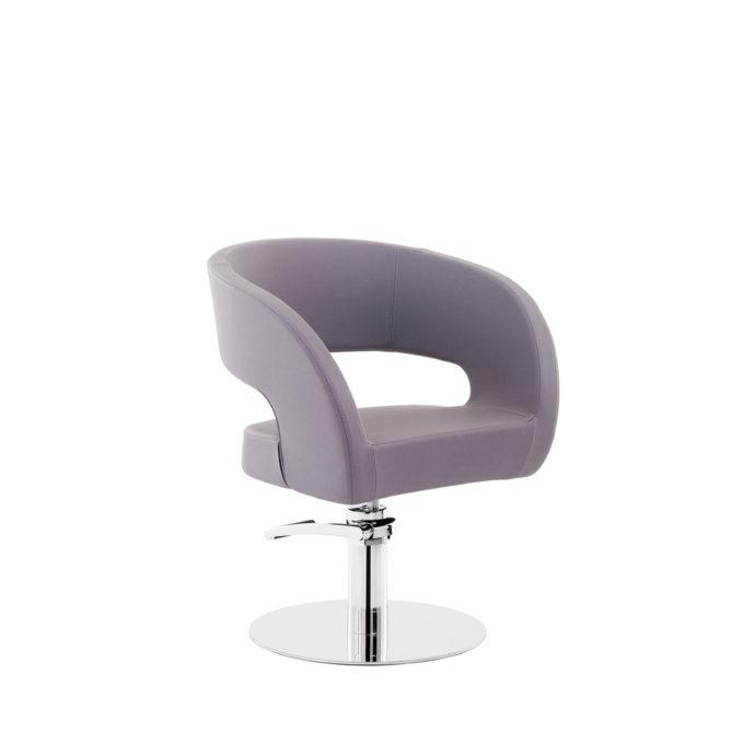 siège de coiffure violet clair