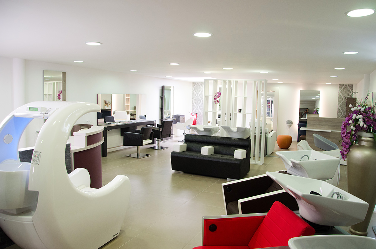 Showroom Mobilier Coiffure