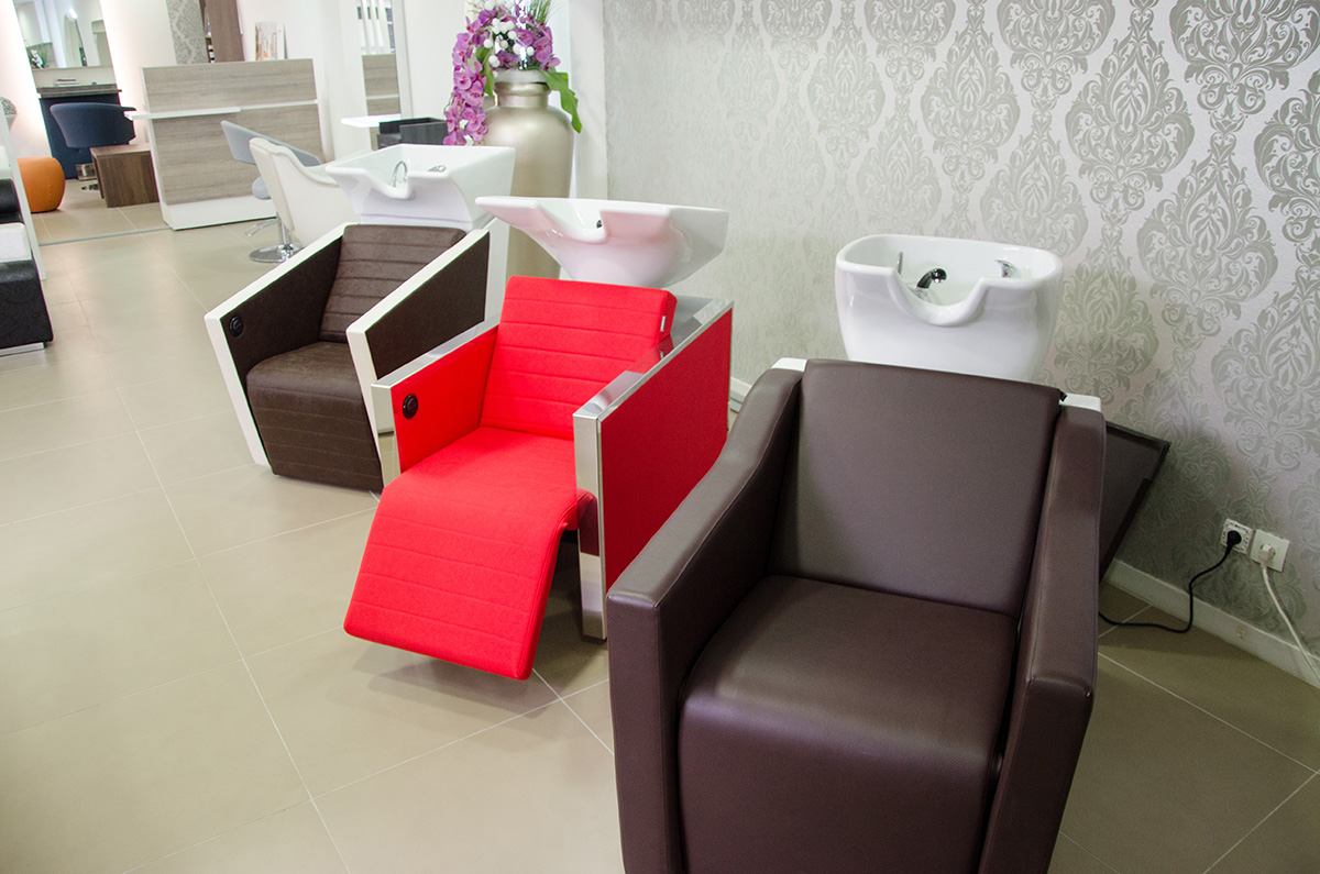 Showroom mobilier coiffure