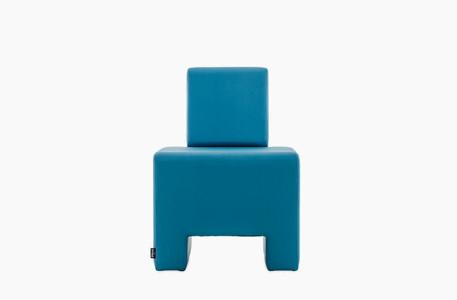 chauffeuse 1 place confortable moderne bleu