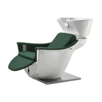 Bac de lavage avec relax et air massage blanc et vert
