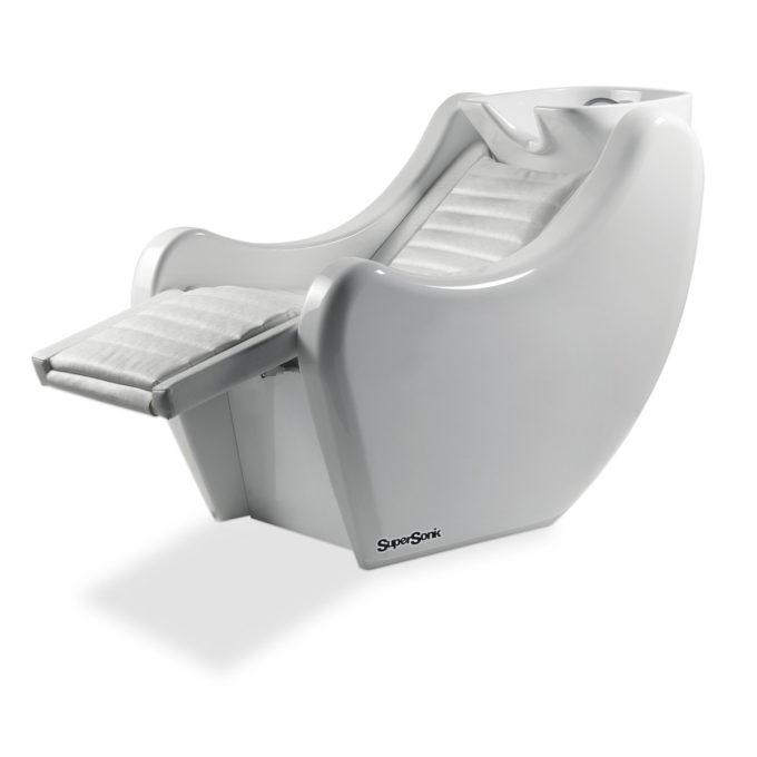 bac de lavage relax et massage blanc en fibre de verre