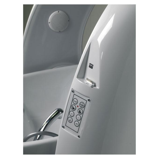 commande bac lavage relax et massage électrique supersonik
