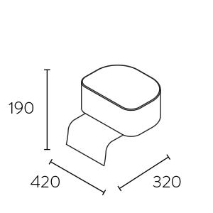 dimensions rehausseur domino