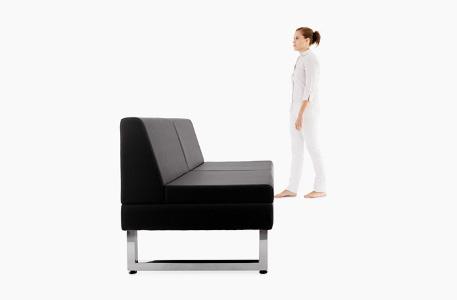 fauteuil coiffure vu de profil