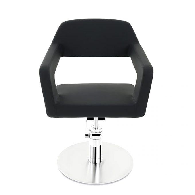 fauteuil de coiffure original noir