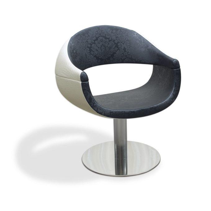 fauteuil de coiffure avec revêtement original
