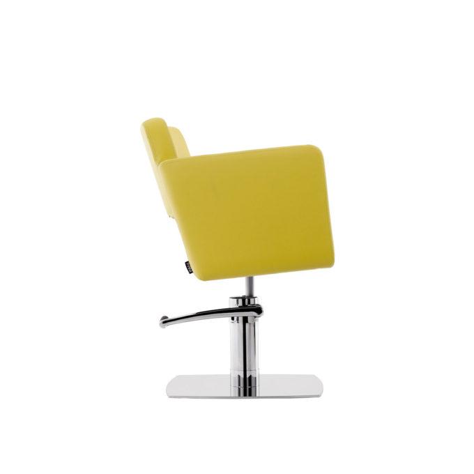 chaise de coiffure couleur citron