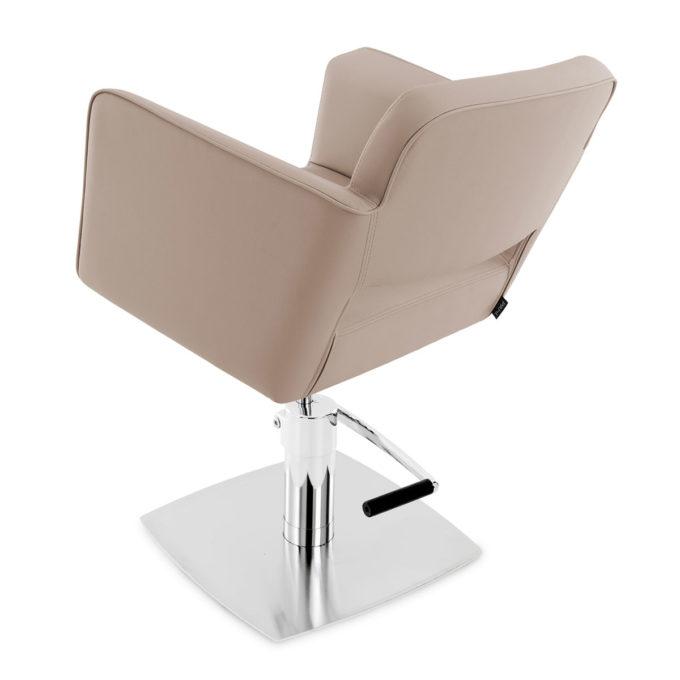 fauteuil coiffure pompe hydraulique finition sable