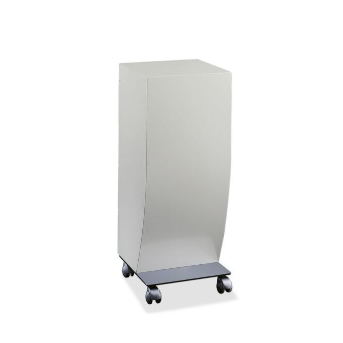 meuble rangement sur roulettes avec structure métallique