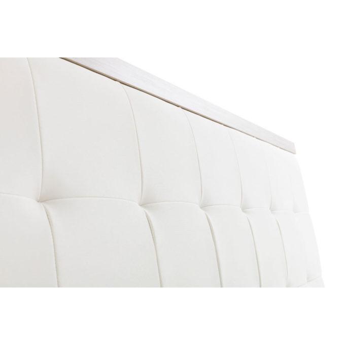fintion façade meuble caisse coiffure en skai blanc