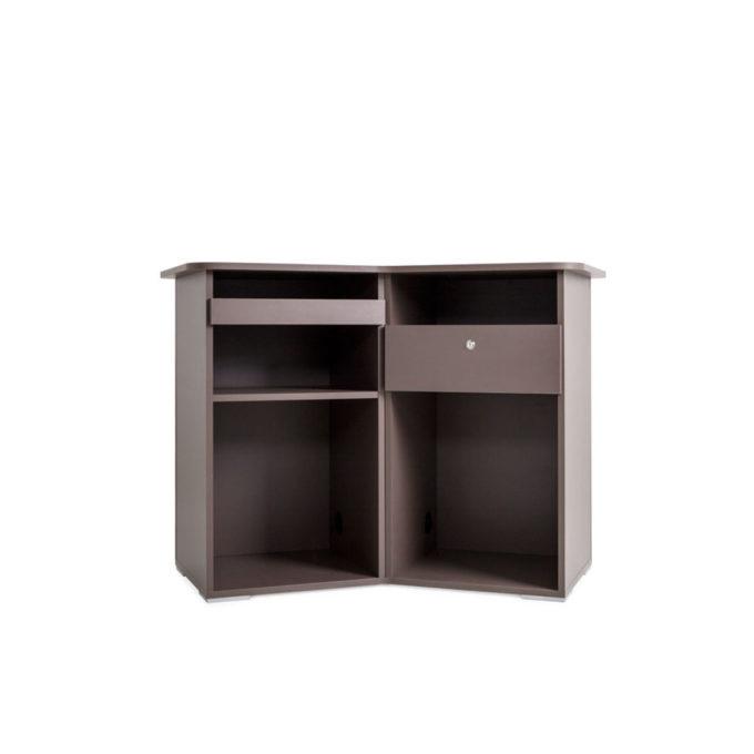 meuble caisse fonctionnel avec tiroir et rangement