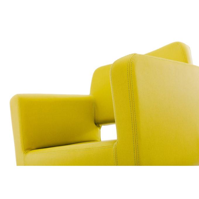 siège de coiffure assise en un bloc