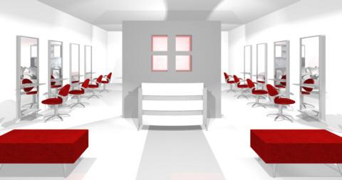 Savoir faire dans le mobilier de coiffure et l 39 agencement de salon de coiffure mobicoiff - Agencement d un salon de coiffure ...