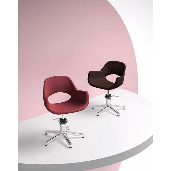 fauteuil de coiffure noa couleur aux choix