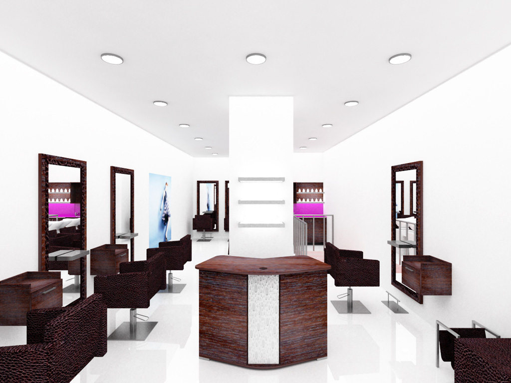 agencement salon de coiffure mobicoiff propose lagencement amnagement - Amenagement Salon En L
