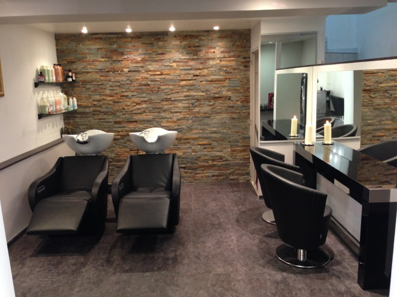 Nos plus belles r alisations de salons de coiffure for Agencement salon design