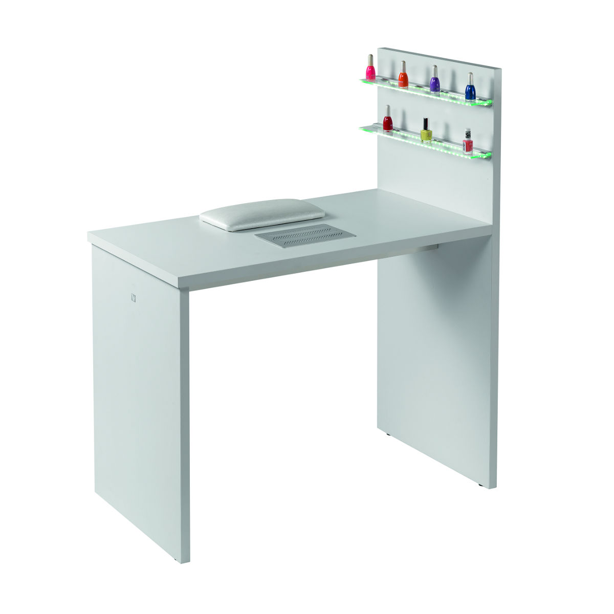Table manucure grace mobicoiff - Meuble rangement vernis a ongles ...