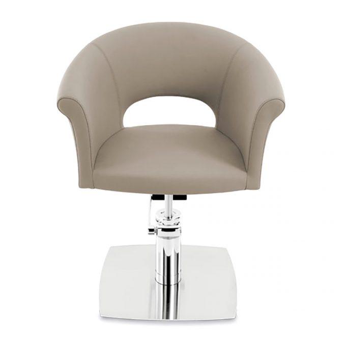 fauteuil cloe arrondi avec pompe hydraulique