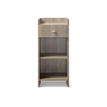 Meuble de rangement avec un tiroir et étagère réglable en hauteur