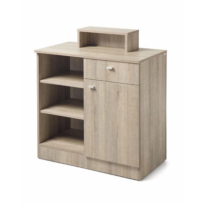 meuble caisse avec rangements bois naturel clair