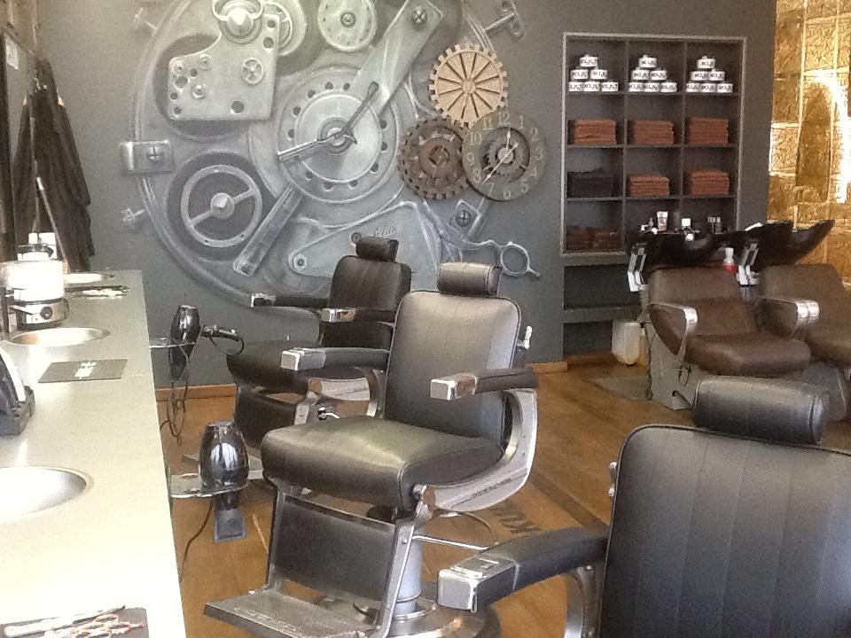 Agencement salon coiffure mobilier de coiffure sp cial - Mobilier salon de coiffure d occasion ...