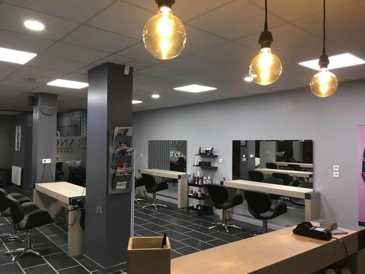 Agencement salon de coiffure mobilier coiffure relooking - Agencement salon de coiffure mobilier ...