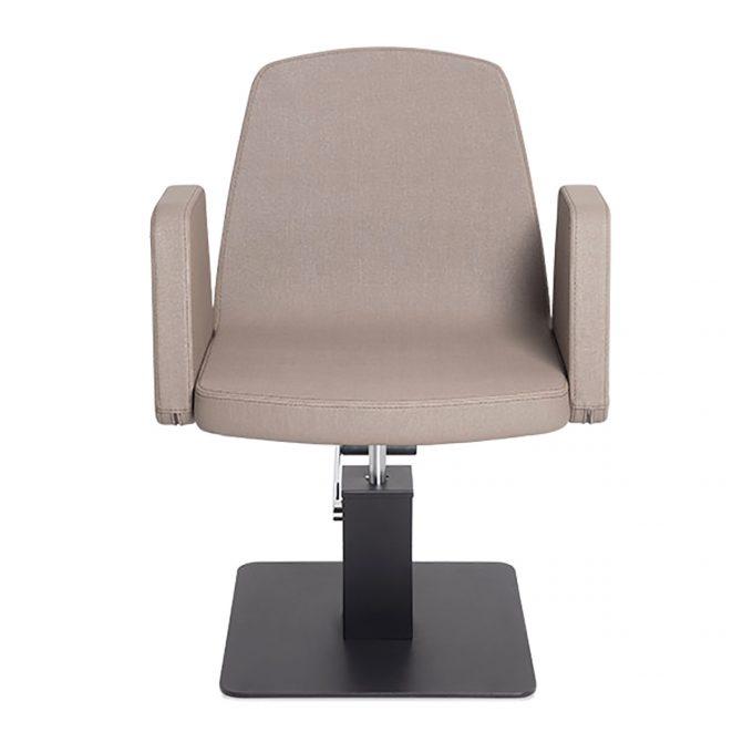 fauteuil de coiffure avec pompe hydraulique couleur sable