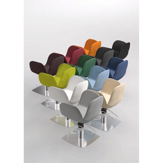 coloris de fauteuil de coiffure