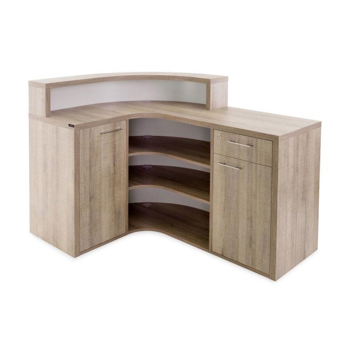 meuble caisse avec rangements et placards