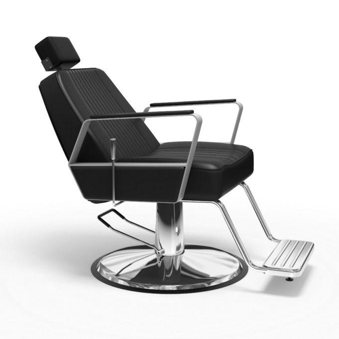 Siège de barbier inclinable style moderne