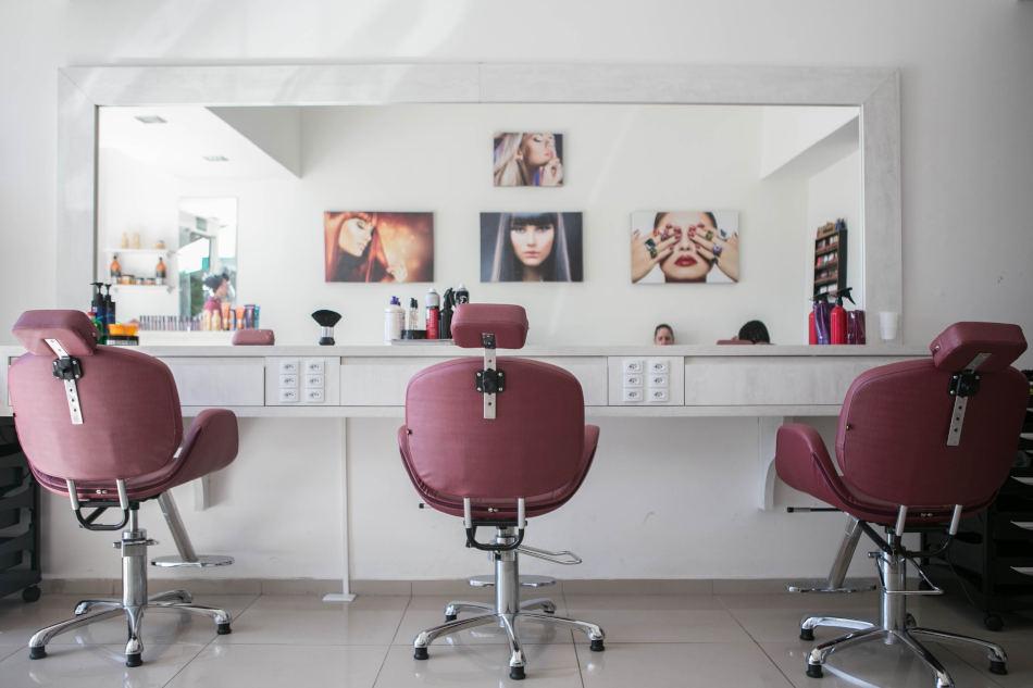 image agencement salon de coiffure