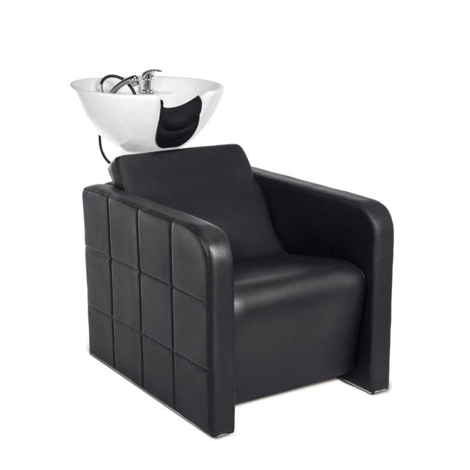 bac de lavage large et confortable assise rembourrée