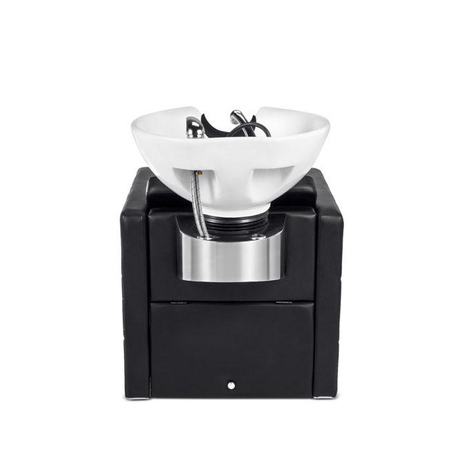 bac de lavage avec vasque blanche ou noire
