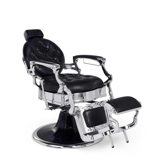 fauteuil de barbier pas cher vintage noir