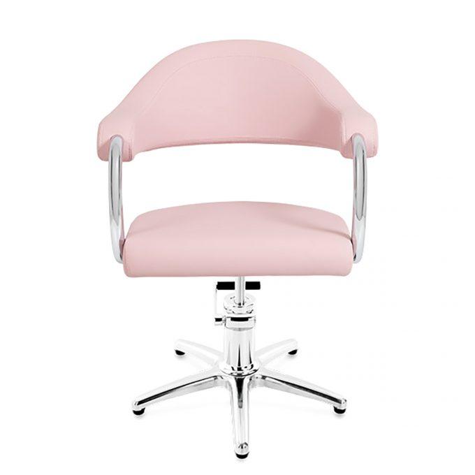 fauteuil coiffure rose pied étoile