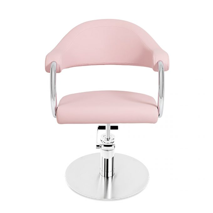 fauteuil coiffure pied rond