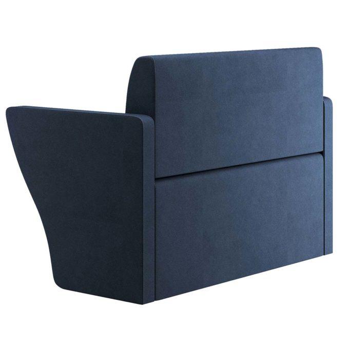 fauteuil attente bleu marine