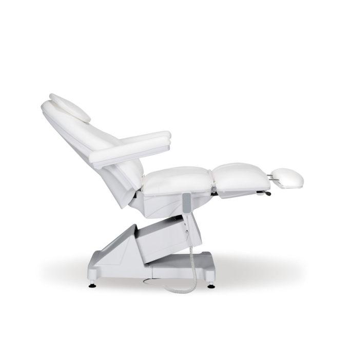 fauteuil pédicure trois réglages de position