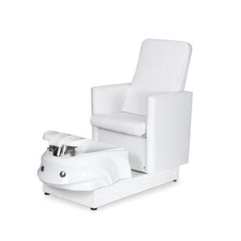fauteuil de pédicure pedispa avec bain pour les pieds, hydromassage, assise confortable