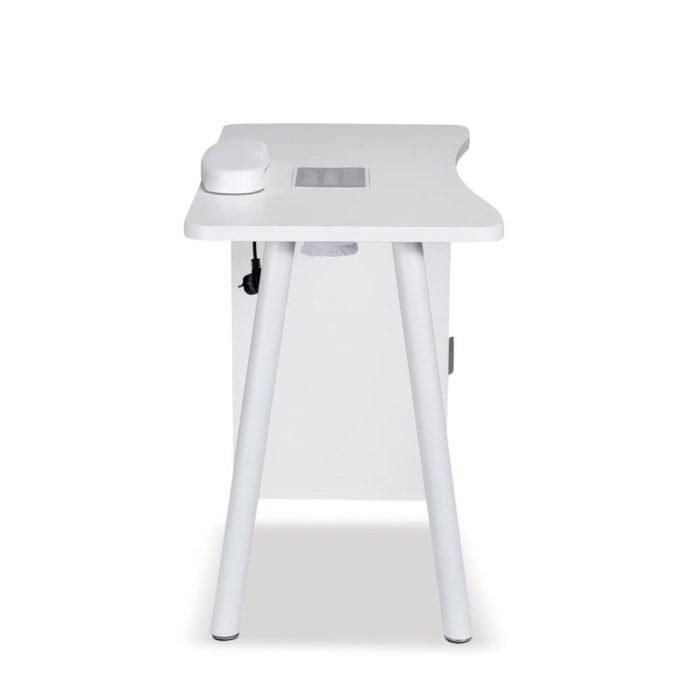 table de manucure avec repose-mains