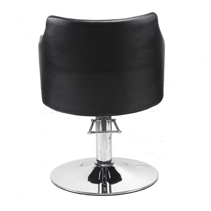fauteuil de coiffeur large et arrondi