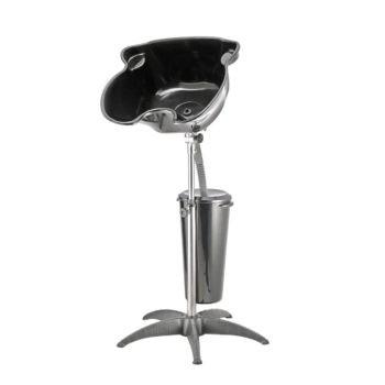 bac à shampoing mobile avec réservoir eau 10L