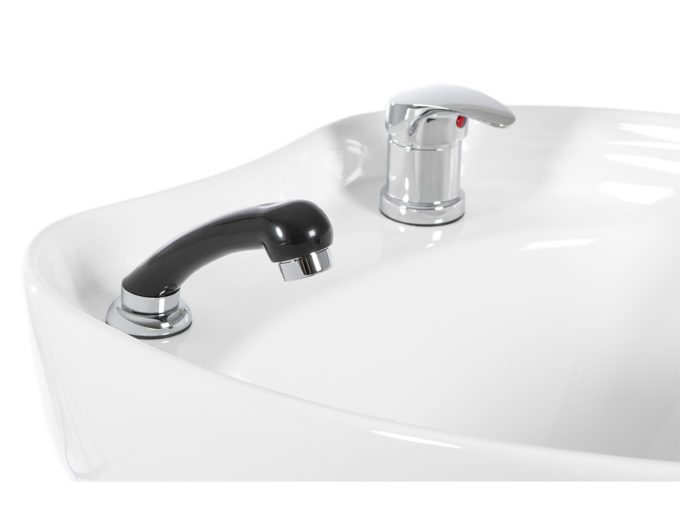 douchette noir pour bac à shampoing