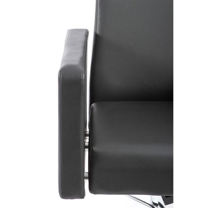 fauteuil de coiffure avec accoudoir confortable