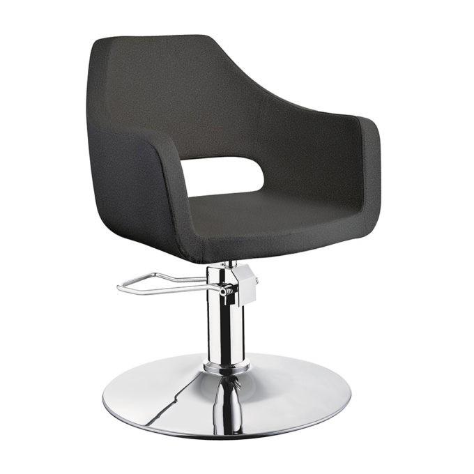 fauteuil de coiffure noir original