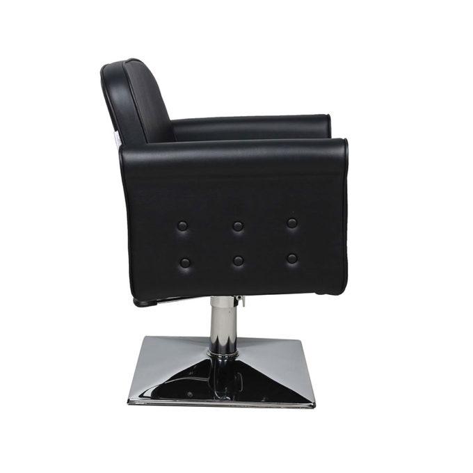 chaise de coiffeur profond et large