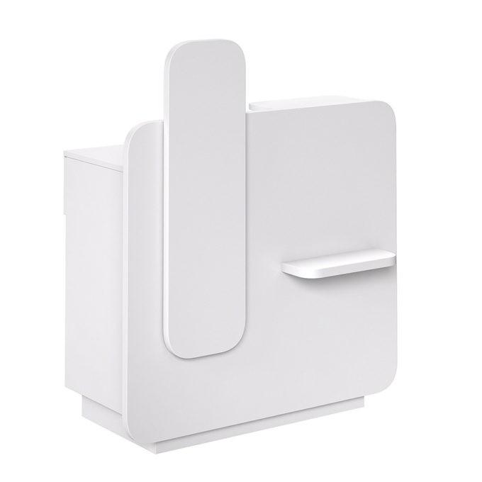 meuble de caisse avec finition frontale aux choix
