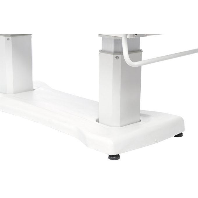 table de massage avec porte rouleau intégré